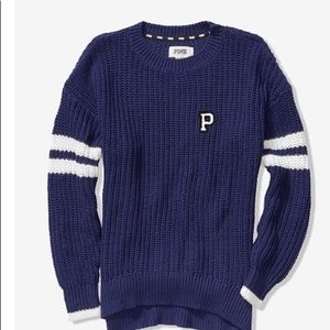 Pink Crew Sweater